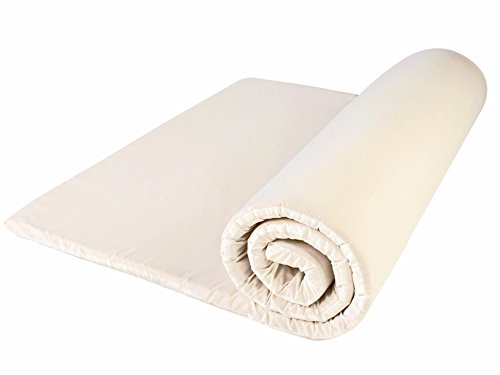 Dreamtime MFDT95976 Heat and Pressure Sensitive Memory Foam Mattress Topper, King Size 5
