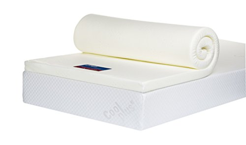 Bodymould Memory Foam Mattress Topper with Cover, 2 inch - European Double 10