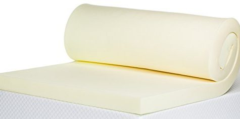 Bodymould Memory Foam Mattress Topper, 3 inch - UK Double 1