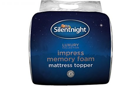 Silentnight Impress 5 cm Memory Foam Mattress Topper, Double 8