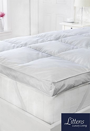 Littens 3 Quot Extra Deep Hotel Quality White Goose Feather