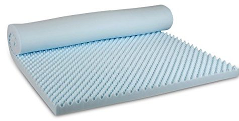 Visco Therapy Body Balance Egg Profiled 3.5 cm CoolBlue Memory Foam Mattress Topper with Cover - King 12