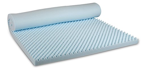 Visco Therapy CoolBlue Egg 3.5 cm Memory Foam Mattress Toppe... 7