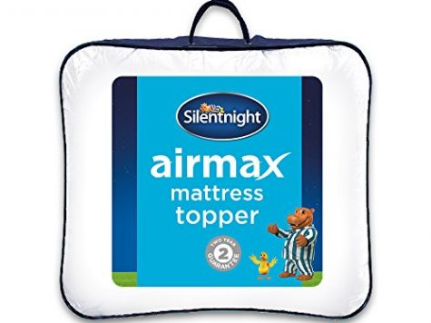 Silentnight Airmax Mattress Topper, White, Double 12