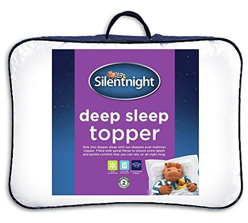 Silentnight Deep Sleep Mattress Topper, White, Single 1