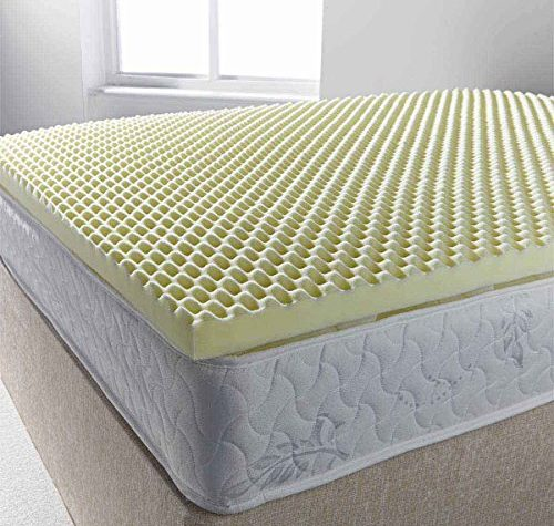 Ultimum egg profiled foam mattress topper - king 5ft0 1