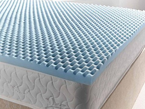 Ultimum coolblue egg mattress topper 350 - king 5ft0 7