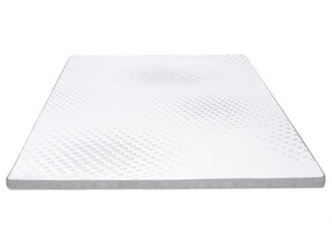 "Littens - 2"" Single Size Memory Foam Mattress Topper (Profile/Egg Shell) 50mm 6"