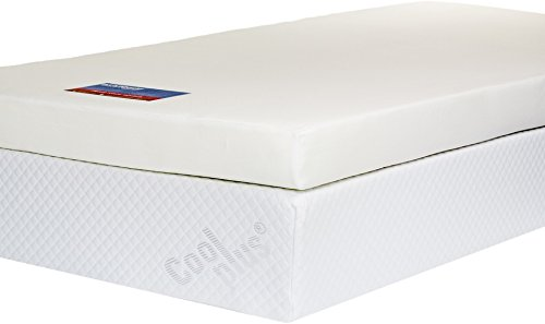 Memory Foam Mattress Topper with Cover, 4 inch - UK Super King 1