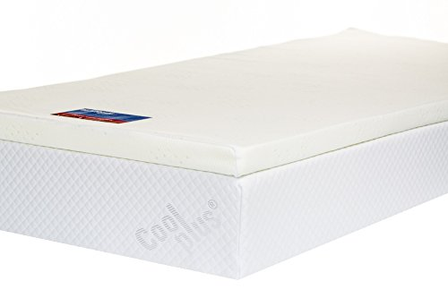 Memory Foam Mattress Topper with Cover, 2 inch - UK Super King 1