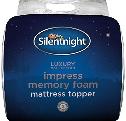 SILENTNIGHT IMPRESS 7CM MEMORY FOAM MATTRESS TOPPER - SUPER KING. 1