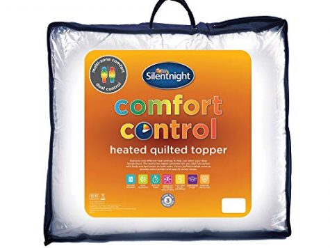 Silentnight Multi-Zone Heated Quilted Mattress Topper, Doubl... 6