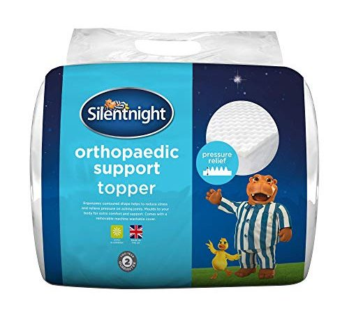 Silentnight Orthopaedic Topper with Removable Cover 1