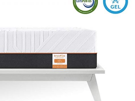 Inofia Double Gel Memory Foam Mattress, 22cm Memory Foam Mattress in a Box 6