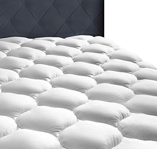 MASVIS Quilted Mattress Topper Cover 10