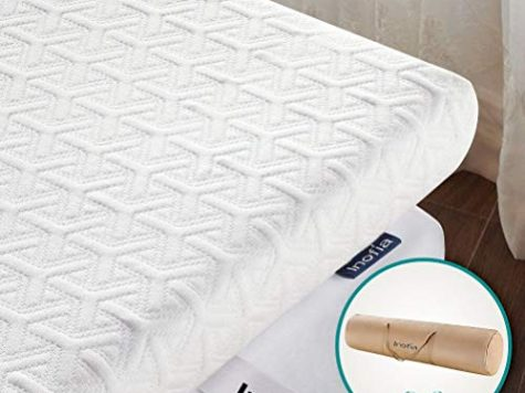 Inofia Mattress Topper, ECOGRREN 6CM Memory Foam Mattress To... 6