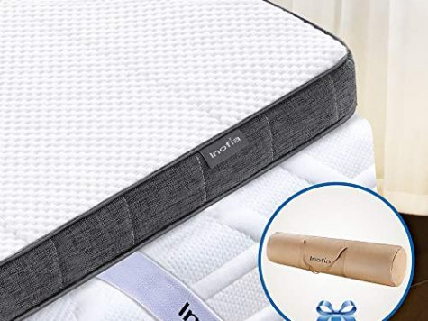 Inofia Single Gel Memory Foam Mattress Topper Review 8